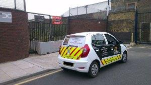Building security vehicle premisis patrols